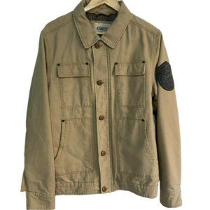 Elwood Jacket Mens Size L Casual Brown Utility
